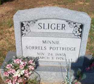 SLIGER, MINNIE - Scott County, Arkansas   MINNIE SLIGER - Arkansas Gravestone Photos