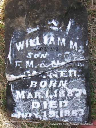 SLIGER, WILLIAM M - Scott County, Arkansas | WILLIAM M SLIGER - Arkansas Gravestone Photos