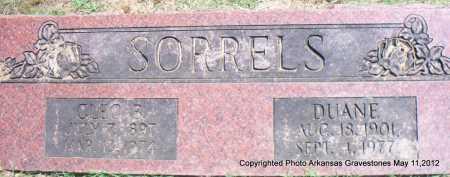SORRELS, DUANE - Scott County, Arkansas | DUANE SORRELS - Arkansas Gravestone Photos