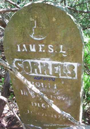 SORRELS, JAMES L - Scott County, Arkansas | JAMES L SORRELS - Arkansas Gravestone Photos