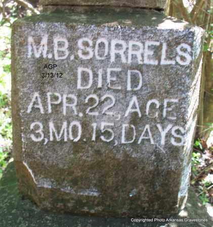 SORRELS, M B - Scott County, Arkansas | M B SORRELS - Arkansas Gravestone Photos