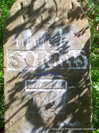 SORRELS, MARIE B - Scott County, Arkansas | MARIE B SORRELS - Arkansas Gravestone Photos