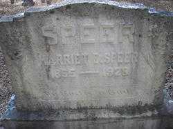 SPEER, HARRIET E - Scott County, Arkansas   HARRIET E SPEER - Arkansas Gravestone Photos