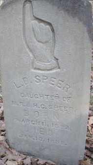 SPEER, L B - Scott County, Arkansas | L B SPEER - Arkansas Gravestone Photos