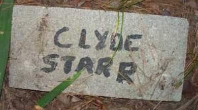 STARR, CLYDE - Scott County, Arkansas | CLYDE STARR - Arkansas Gravestone Photos