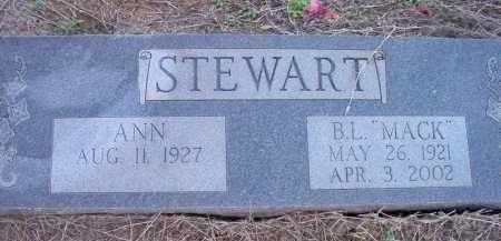 "STEWART, B L ""MACK"" - Scott County, Arkansas | B L ""MACK"" STEWART - Arkansas Gravestone Photos"