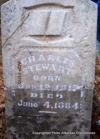 STEWART, CHARLES - Scott County, Arkansas | CHARLES STEWART - Arkansas Gravestone Photos