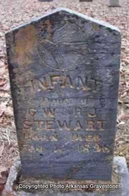 STEWART, INFANT DAUGHTER - Scott County, Arkansas | INFANT DAUGHTER STEWART - Arkansas Gravestone Photos
