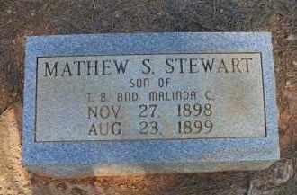 STEWART, MATHEW S - Scott County, Arkansas | MATHEW S STEWART - Arkansas Gravestone Photos