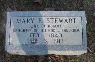 STEWART, MARY E - Scott County, Arkansas | MARY E STEWART - Arkansas Gravestone Photos