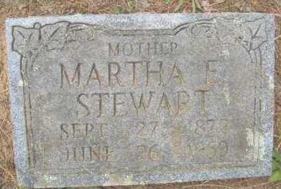 STEWART, MARTHA E - Scott County, Arkansas | MARTHA E STEWART - Arkansas Gravestone Photos