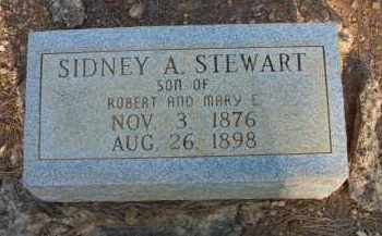 STEWART, SIDNEY A - Scott County, Arkansas | SIDNEY A STEWART - Arkansas Gravestone Photos