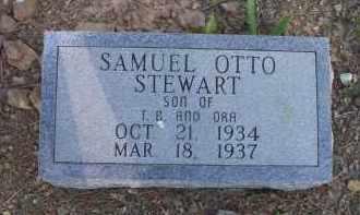 STEWART, SAMUEL OTTO - Scott County, Arkansas   SAMUEL OTTO STEWART - Arkansas Gravestone Photos