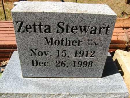 STEWART, ZETTA - Scott County, Arkansas | ZETTA STEWART - Arkansas Gravestone Photos