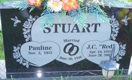 "STUART, J C  ""RED"" - Scott County, Arkansas | J C  ""RED"" STUART - Arkansas Gravestone Photos"