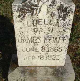 TAFF, LUELLA - Scott County, Arkansas | LUELLA TAFF - Arkansas Gravestone Photos