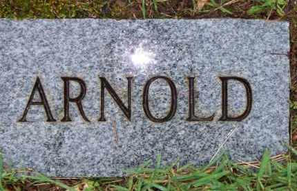 UNKNOWN, ARNOLD - Scott County, Arkansas | ARNOLD UNKNOWN - Arkansas Gravestone Photos