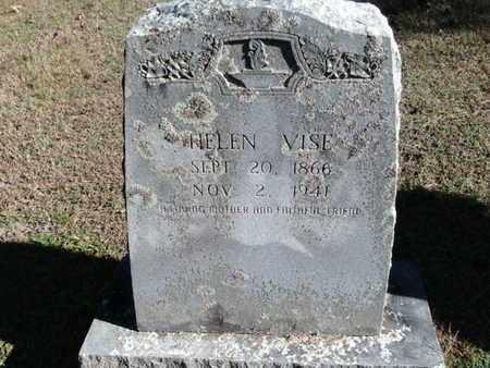 VISE, HELEN - Scott County, Arkansas   HELEN VISE - Arkansas Gravestone Photos