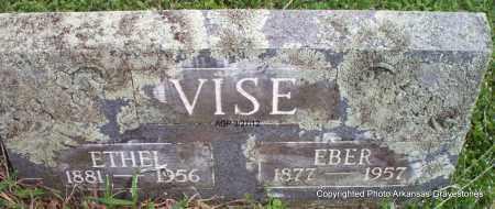 VISE, EBER - Scott County, Arkansas   EBER VISE - Arkansas Gravestone Photos