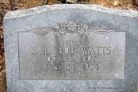 WATTS, SQUIRE ROBERT (BOB) - Scott County, Arkansas | SQUIRE ROBERT (BOB) WATTS - Arkansas Gravestone Photos