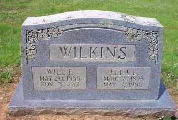 WILKINS, ELLA L - Scott County, Arkansas | ELLA L WILKINS - Arkansas Gravestone Photos