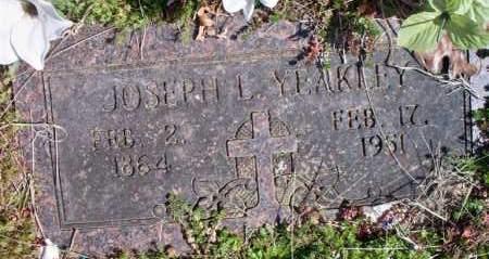YEAKLEY, JOSEPH L - Scott County, Arkansas | JOSEPH L YEAKLEY - Arkansas Gravestone Photos