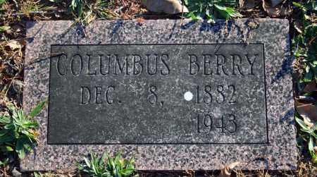 BERRY, COLUMBUS - Searcy County, Arkansas   COLUMBUS BERRY - Arkansas Gravestone Photos