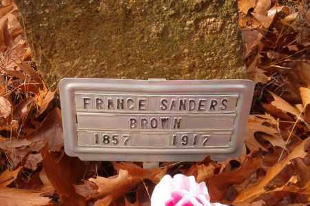 BROWN, FRANCES - Searcy County, Arkansas | FRANCES BROWN - Arkansas Gravestone Photos