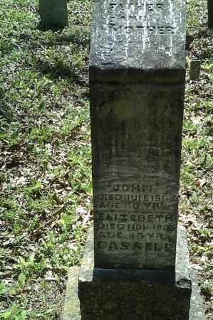 CASSELL, JOHN - Searcy County, Arkansas | JOHN CASSELL - Arkansas Gravestone Photos