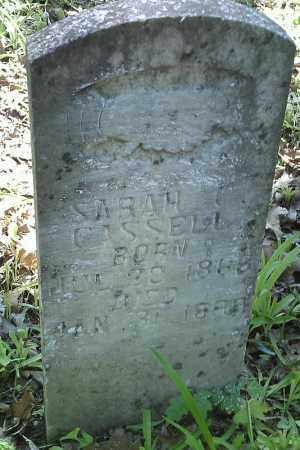 CASSELL, SARAH C. - Searcy County, Arkansas | SARAH C. CASSELL - Arkansas Gravestone Photos