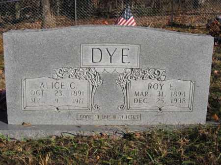 DYE, ROY ELLSWORTH - Searcy County, Arkansas | ROY ELLSWORTH DYE - Arkansas Gravestone Photos