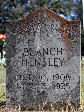 HENSLEY, BLANCH - Searcy County, Arkansas   BLANCH HENSLEY - Arkansas Gravestone Photos