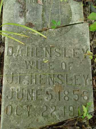 HENSLEY, DEANNA A - Searcy County, Arkansas | DEANNA A HENSLEY - Arkansas Gravestone Photos
