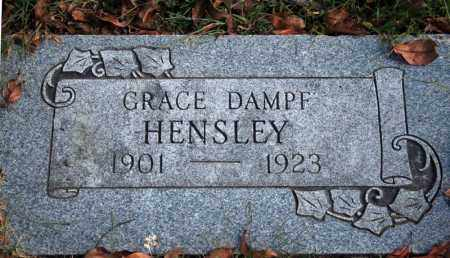 DAMPF HENSLEY, GRACE - Searcy County, Arkansas | GRACE DAMPF HENSLEY - Arkansas Gravestone Photos