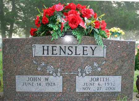 HENSLEY, JORITH - Searcy County, Arkansas | JORITH HENSLEY - Arkansas Gravestone Photos