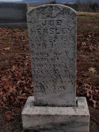 HENSLEY, JOE - Searcy County, Arkansas   JOE HENSLEY - Arkansas Gravestone Photos