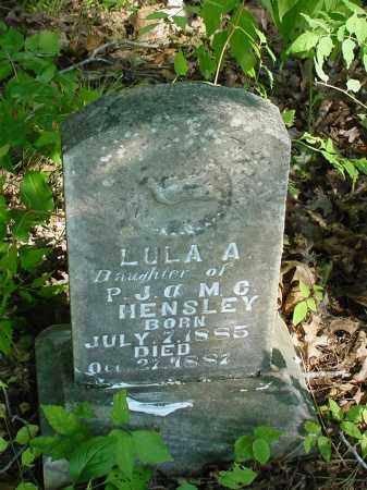 HENSLEY, LULA - Searcy County, Arkansas | LULA HENSLEY - Arkansas Gravestone Photos