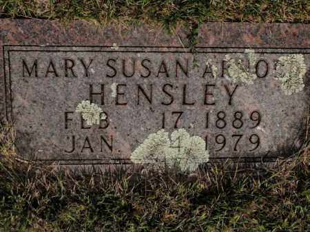 HENSLEY, MARY SUSAN - Searcy County, Arkansas | MARY SUSAN HENSLEY - Arkansas Gravestone Photos