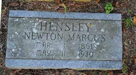 HENSLEY, NEWTON MARCUS - Searcy County, Arkansas | NEWTON MARCUS HENSLEY - Arkansas Gravestone Photos