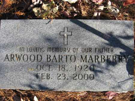 BARTO MARBERRY, ARWOOD - Searcy County, Arkansas | ARWOOD BARTO MARBERRY - Arkansas Gravestone Photos