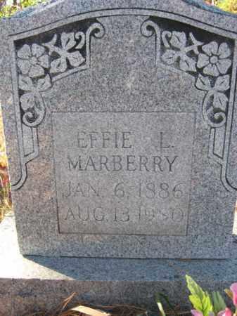 MARBERRY, EFFIE L. - Searcy County, Arkansas | EFFIE L. MARBERRY - Arkansas Gravestone Photos