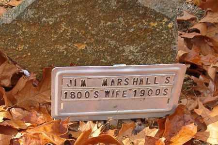 MARSHALL, WIFE OF JIM - Searcy County, Arkansas | WIFE OF JIM MARSHALL - Arkansas Gravestone Photos