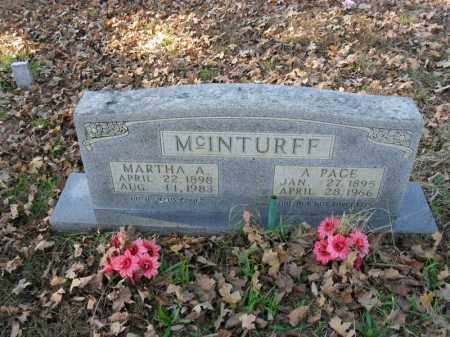 MCINTURFF, A. PAGE - Searcy County, Arkansas | A. PAGE MCINTURFF - Arkansas Gravestone Photos