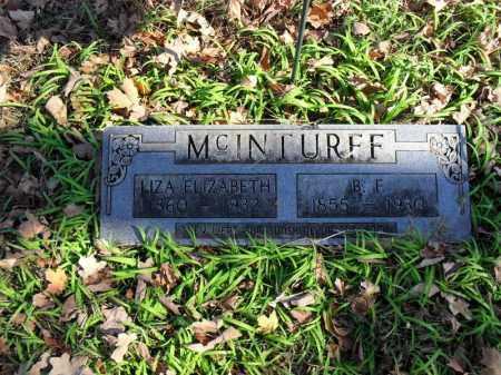 MCINTURFF, B. F. - Searcy County, Arkansas | B. F. MCINTURFF - Arkansas Gravestone Photos