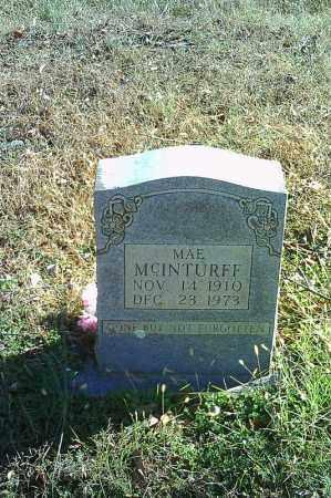 MCINTURFF, MAE - Searcy County, Arkansas | MAE MCINTURFF - Arkansas Gravestone Photos