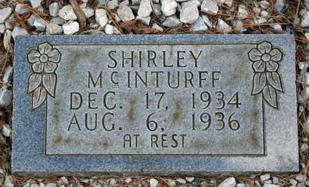 MCINTURFF, SHIRLEY - Searcy County, Arkansas | SHIRLEY MCINTURFF - Arkansas Gravestone Photos