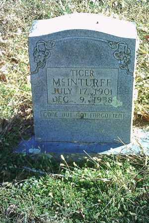 MCINTURFF, TICER - Searcy County, Arkansas | TICER MCINTURFF - Arkansas Gravestone Photos