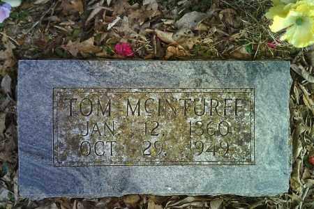 MCINTURFF, TOM - Searcy County, Arkansas | TOM MCINTURFF - Arkansas Gravestone Photos