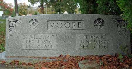 MOORE, FLORA K. - Searcy County, Arkansas | FLORA K. MOORE - Arkansas Gravestone Photos