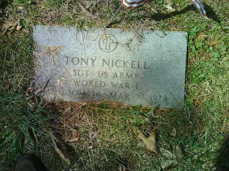 NICKELL  (VETERAN WWI), TONY - Searcy County, Arkansas | TONY NICKELL  (VETERAN WWI) - Arkansas Gravestone Photos